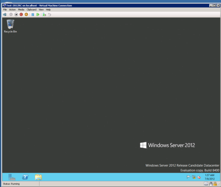 Where is the start menu?